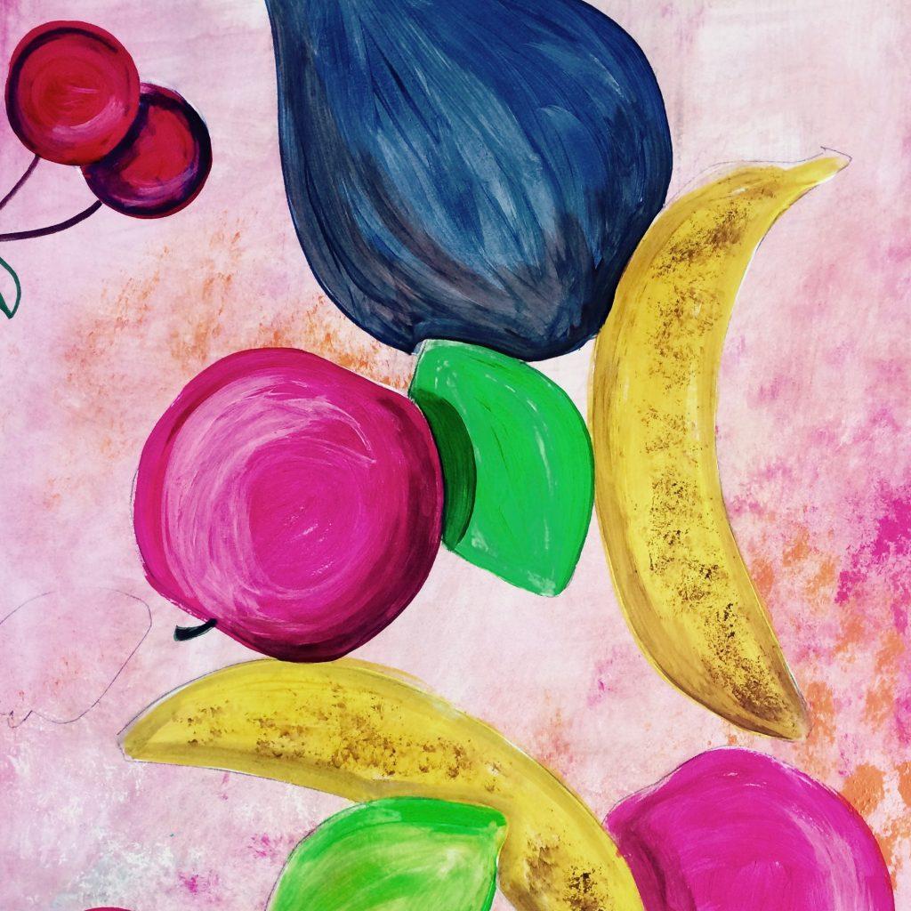 Fruits et légumes composés